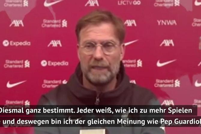 "Klopp attackiert UEFA: ""Keiner fragt uns"""