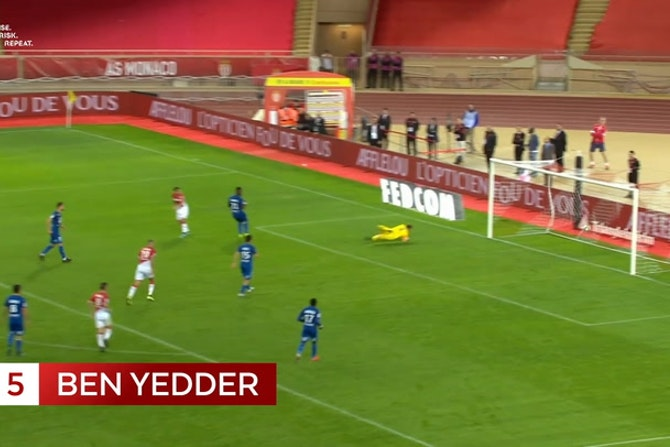AS Monaco's top five goals vs Rennes
