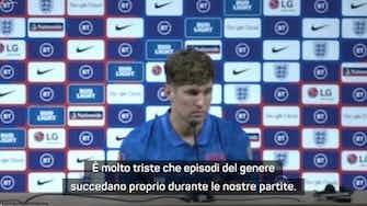 "Anteprima immagine per Stones condanna gli ululati: ""Intervenga la UEFA"""