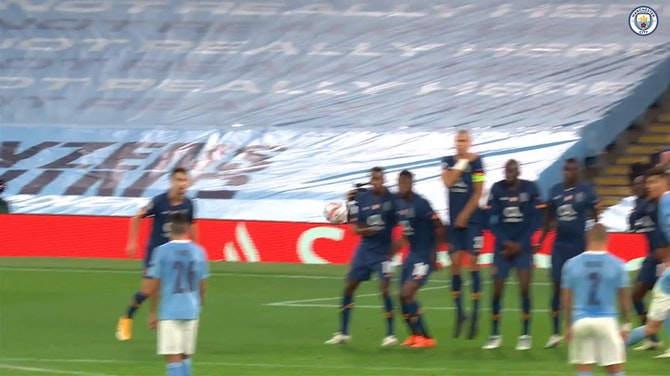 Ilkay Gundogan's brilliant free-kick vs Porto
