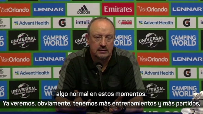 "Imagen de vista previa para Benítez: ""Nadie puede discutir la calidad de James"""