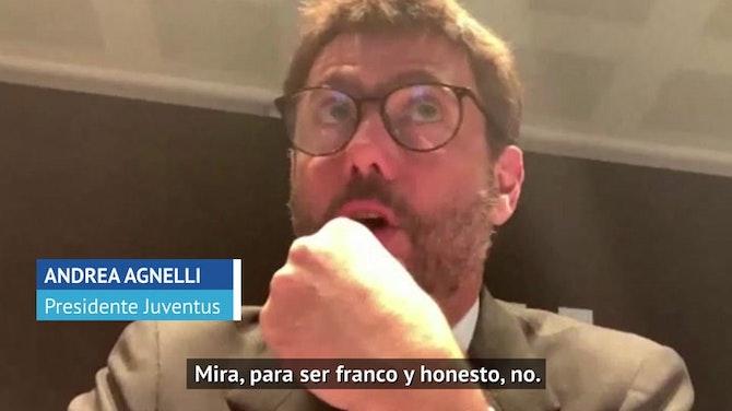 Agnelli admite el fracaso de la Superliga