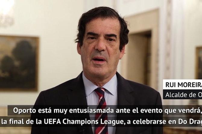 Moreira, alcalde de Oporto, sobre la final de Champions en Do Dragao