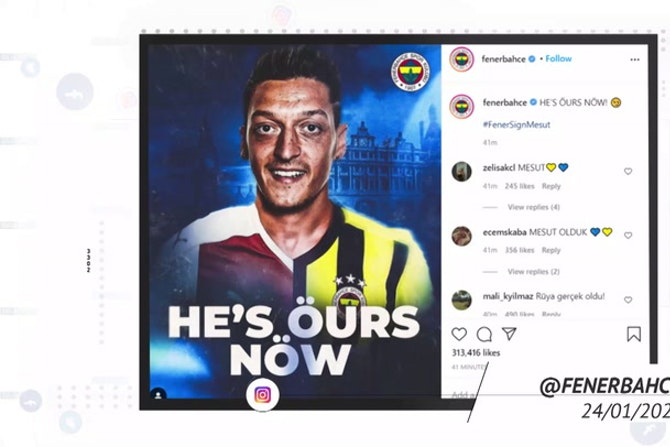 Socialeyesed - Ozil joins Fenerbahce
