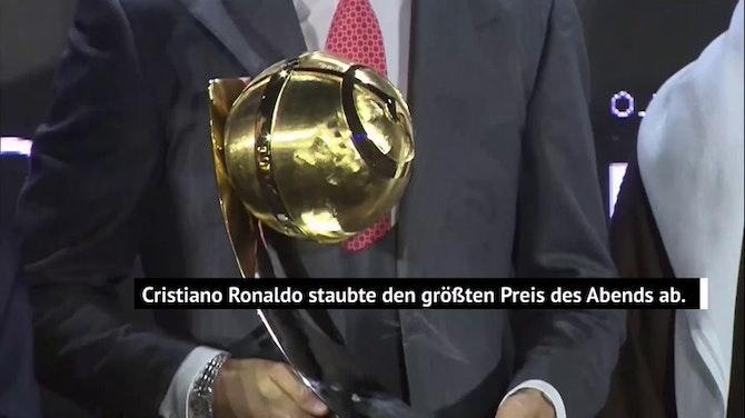 Vorschaubild für Cristiano Ronaldo in Dubai zum Spieler des Jahrhunderts gekürt