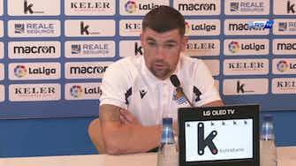 """Imagen de vista previa para Ryan en su presentación con la Real Sociedad: """"Hablé con Ødegaard, el Villarreal me llamó"""""""