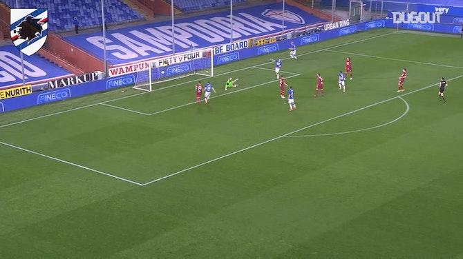 Adrien Silva's first Serie A goal