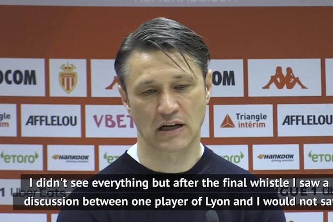 Kovac and Garcia backing players after Monaco-Lyon mass brawl