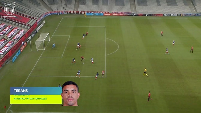 Preview image for Top three goals of 2021 Brasileirão's Week 9