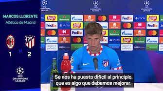 """Imagen de vista previa para Llorente, autocrítico: """"En los últimos partidos nos marcan muy pronto"""""""