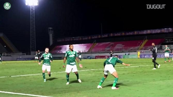 Preview image for Palmeiras beat Bragantino to reach Paulista semifinal