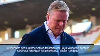 Anteprima immagine per Barcellona, esonerato Koeman