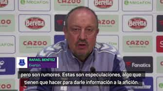 Imagen de vista previa para Benítez se refirió al futuro de Richarlison y James Rodríguez