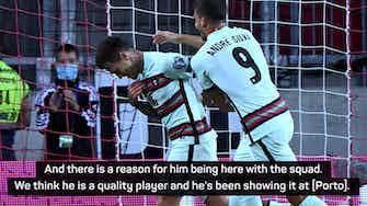 Preview image for Santos praises 'quality' scoring debut for Otávio