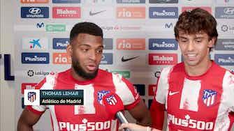 Imagen de vista previa para La divertida entrevista conjunta a Lemar y João Félix