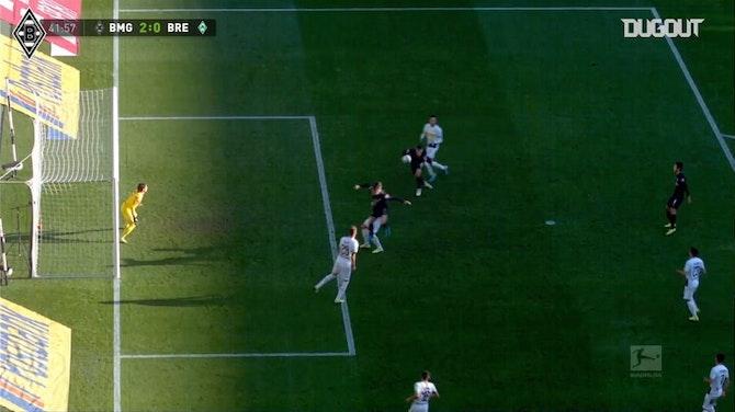 Defesas de Yann Sommer contra o Werder Bremen