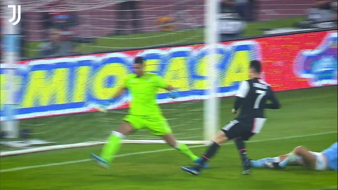 Cristiano Ronaldo's incredible speed