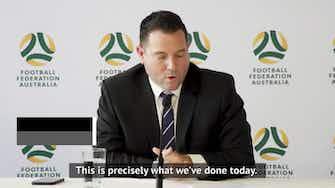 Preview image for FFA CEO announces suspension of A-League