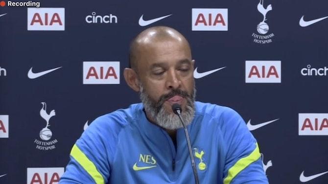 Preview image for Harry Kane is a Tottenham player – period! Nuno Espirito Santo's first Tottenham press conference