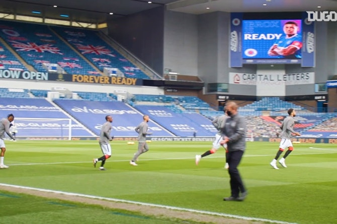 Inside Ibrox: Roofe helps Rangers thrash Celtic