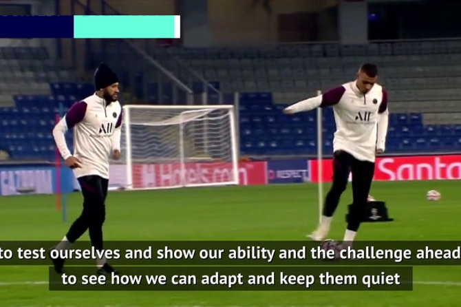 Stones relishing Mbappe and Neymar test