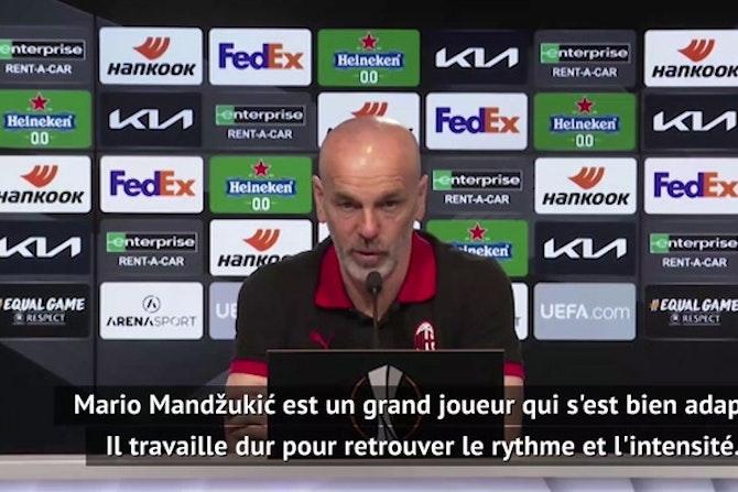 "16èmes - Pioli : ""Ibrahimovic sera à Belgrade"""