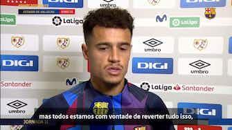 """Imagem de visualização para Phillippe Coutinho: """"temos que estar unidos e colocar o Barça no lugar que merece"""""""