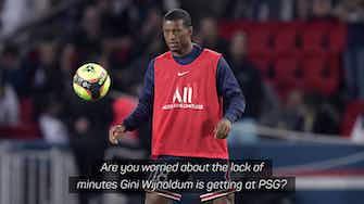 Preview image for Van Gaal 'not alarmed' by Wijnaldum's lack of PSG minutes