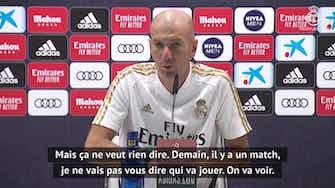"Image d'aperçu pour 38e j. - Zidane : ""Benzema pichichi ? J'aimerais beaucoup !"""
