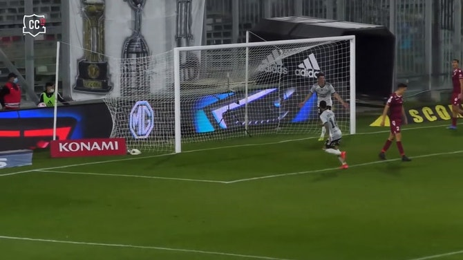 Luciano Arriagada's great goal vs La Serena