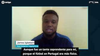"Imagen de vista previa para Igbekeme: ""No me costó adaptarme al fútbol español"""