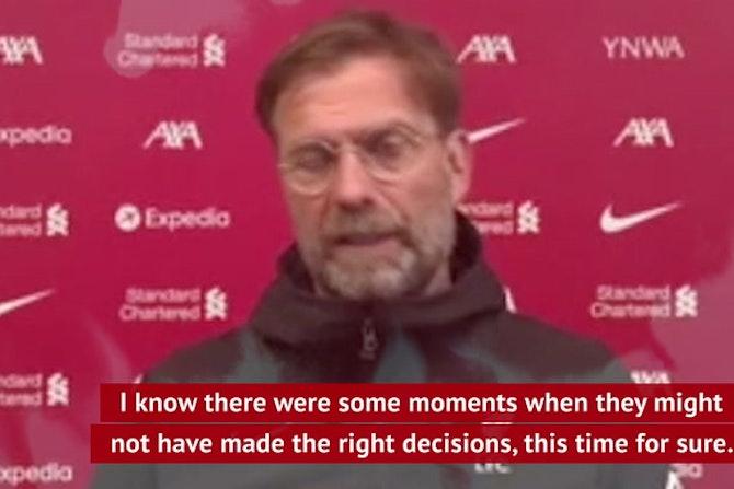 Jurgen on the attack - Klopp rebukes FIFA and UEFA