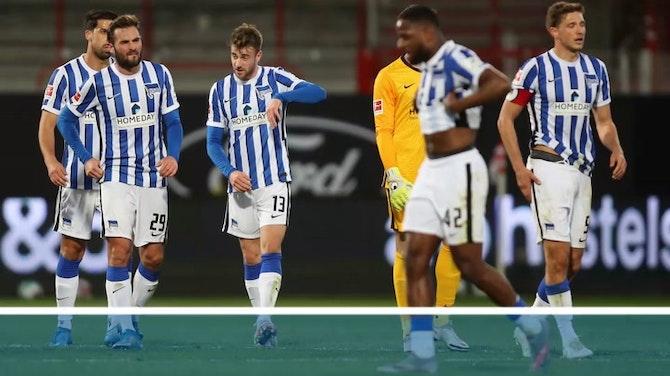 BL-Spiele vor Absage: Hertha muss in Quarantäne