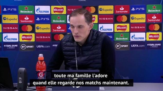 "Quarts - Tuchel : ""N'Golo Kante est incroyable"""