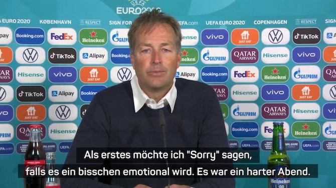 Nach Eriksen-Schock: Hjulmands emotionales Statement