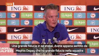 "Anteprima immagine per Van Gaal: ""La mia Olanda come Verstappen"""