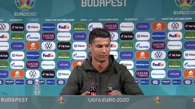 Preview image for Do NOT give Ronaldo Coca-Cola!