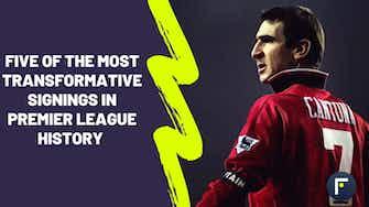 Preview image for Cantona, Bergkamp, Van Dijk - Five of the most transformative signings in Premier League history