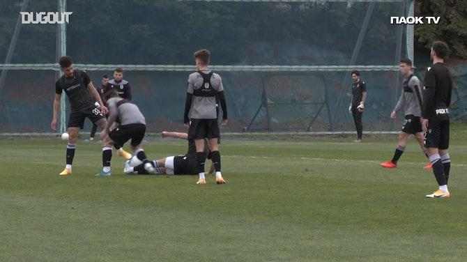 Shinji Kagawa in training ground action
