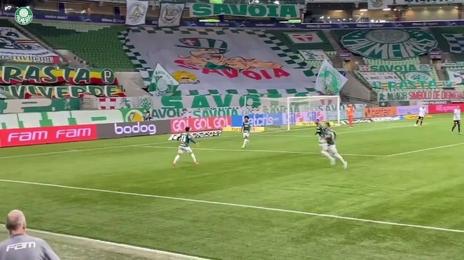 Preview image for Raphael Veiga's goal against Corinthians