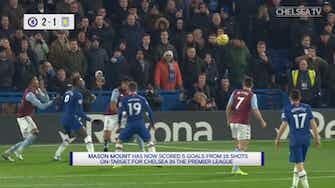 Preview image for Mason Mount's thumping strike vs Aston Villa