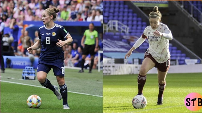 Scotland and Arsenal legend - Kim Little