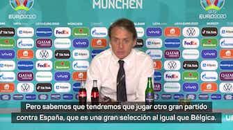 """Imagen de vista previa para Mancini avisa a España: """"Todavía tenemos mucho que decir"""""""