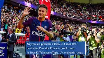 Image d'aperçu pour Transferts - Neymar, made in Paris