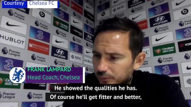 'Commanding' Thiago Silva impresses Lampard on debut