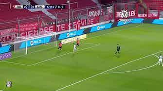 Preview image for Kaio Jorge scores for Santos against Independiente