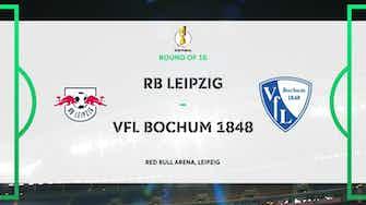 Image d'aperçu pour DFB Pokal Highlights: RB Leipzig 4-0 Bochum