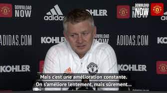 """Image d'aperçu pour 38e j. - Solskjaer : """"Nous avons l'ambition de gagner une place"""""""