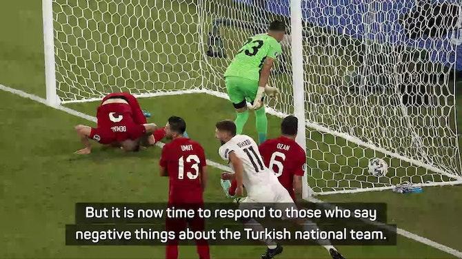 Gunes defend Turkey after Italy defeat