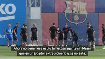 "Imagen de vista previa para Nagelsmann: ""Difícil decir si el Barça es ahora más fuerte o más débil"""
